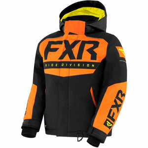FXR Helium Youth Jacket 21 Jacket FXR Black/Orange/Hi Vis 10
