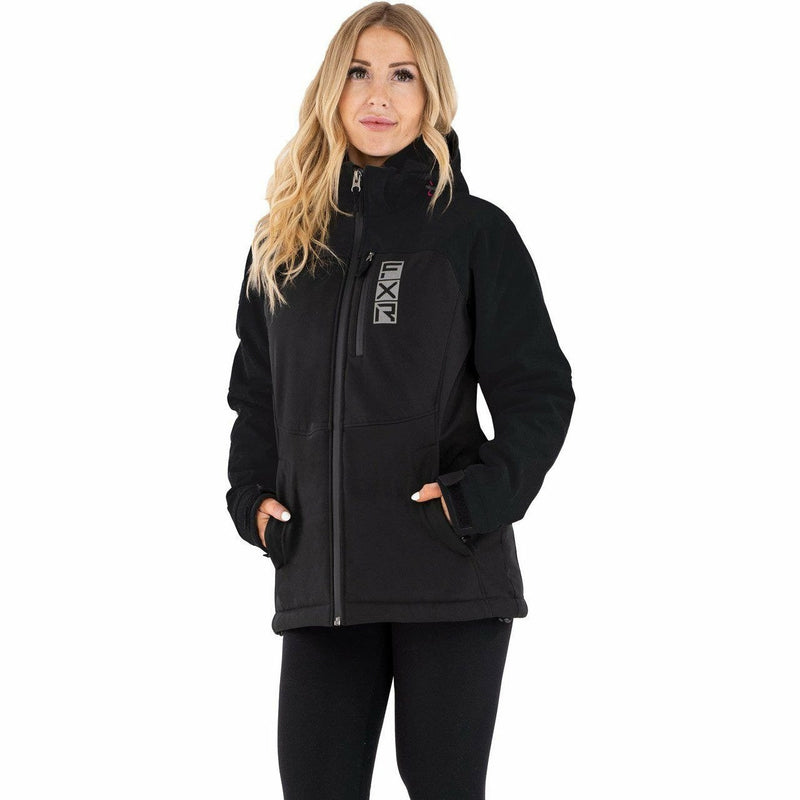 FXR Vertical Pro Ins Women's Softshell Jacket 21 Jacket FXR Grey Hthr/Black XS