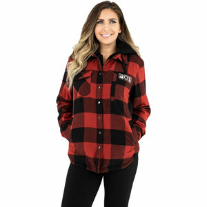 FXR Timber Insulated Flannel Women's Jacket 21 Casual FXR Rust/Black XS