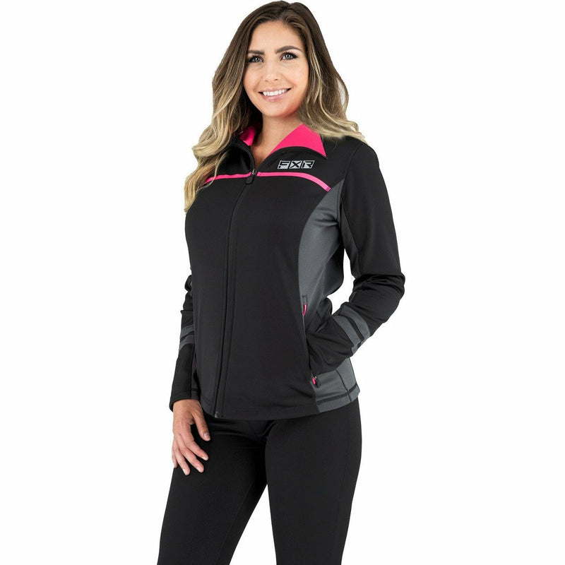 FXR Elevation Tech Women's Zip-Up 21 Casual FXR Char/Coral XS
