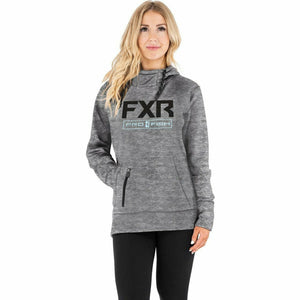 FXR Excursion Tech Women's PO Hoodie 21 Casual FXR Grey Heather/Sky Blue XS