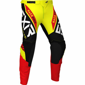 FXR Pro-Stretch MX Youth Pant 21 Pants & Bibs FXR Yellow/Black/Red 22