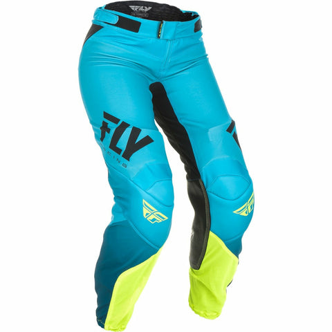 Fly Racing Women's Motocross Lite Race Pants Pants & Bibs Fly Racing BLUE/HI-VIS 20