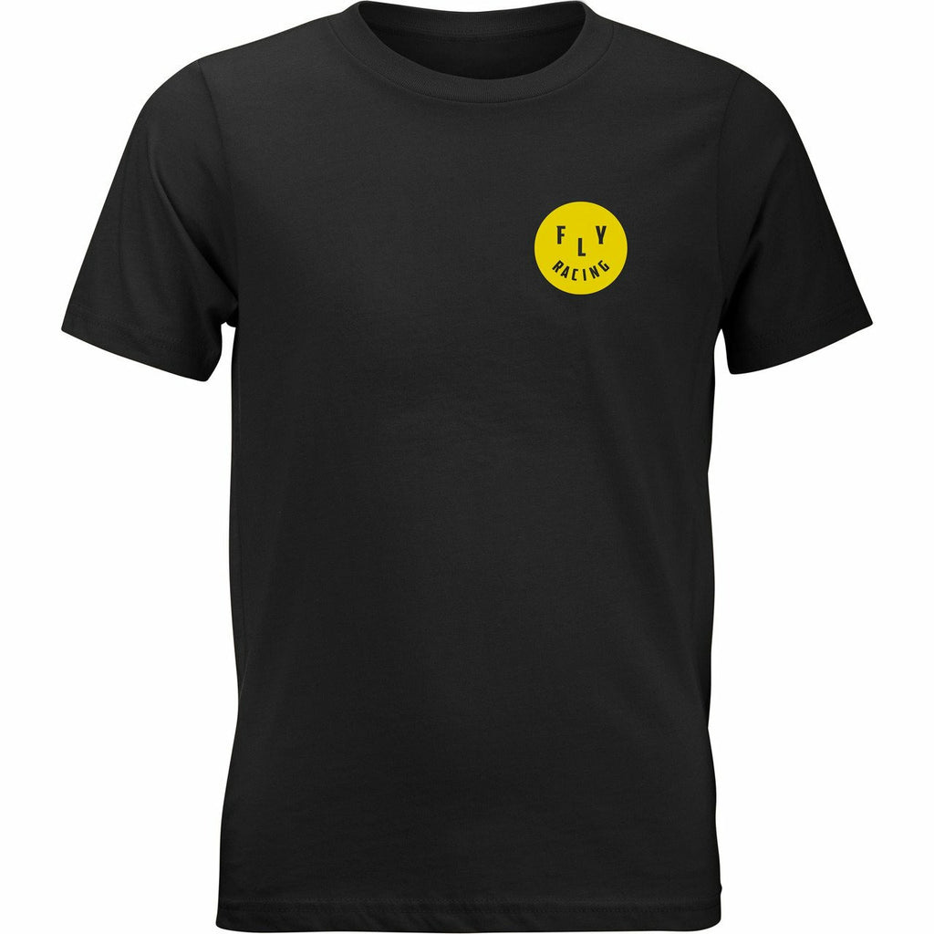 Fly Racing Youth Smile Tee 21 Fly Racing 2021 BLACK YL