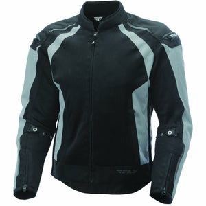 Fly Racing Coolpro Mesh Jacket Jacket Fly Racing SILVER/BLACK SM