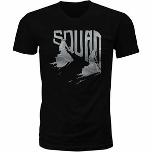 Fly Racing Squad Tee T-Shirt Fly Racing BLACK SM