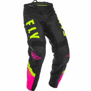 Fly Racing F-16 Pants Fly Racing Off-Road Neon Pink/Black/Hi-Vis 28