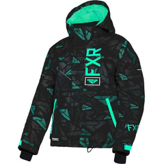 FXR Fresh Youth Jacket 2020 Jacket FXR 2020 Black/Mint Icon 10