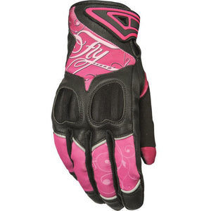 Fly Racing Women's Venus Street Gloves Gloves Fly Racing PINK/BLACK XL