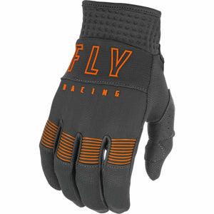 Fly Racing Youth F16 Gloves 21 Fly Racing 2021 GREY/ORANGE 1