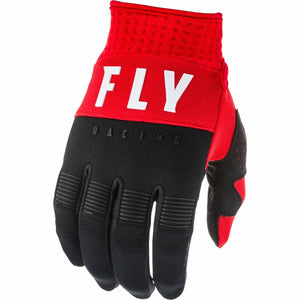 Fly Racing Youth F-16 Gloves Fly Racing Off-Road Red/Black/White 1