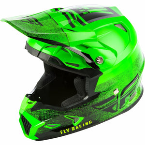 Fly Racing Toxin MIPS Embargo Motocross Helmet Helmet Fly Racing NEON GREEN/BLACK 2X