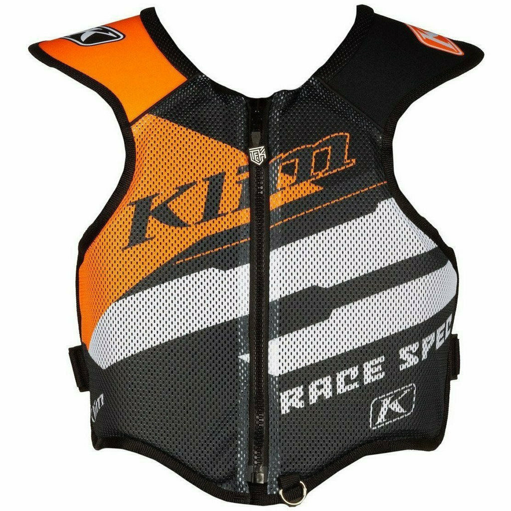 Klim Tek Vest 21 Body Armor Klim Race Spec - Strike Orange 21 SM