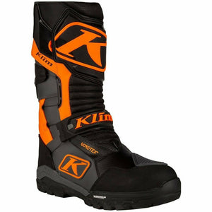 Klim Havoc GTX BOA Snowbike Boot 21 Footwear Klim Asphalt/Strike Orange 21 7
