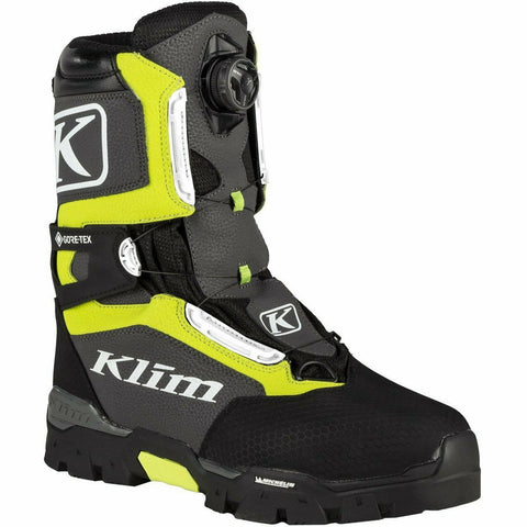 Klim Klutch GTX BOA - New Footwear Klim Klutch GTX BOA Boot 7 Hi-Vis