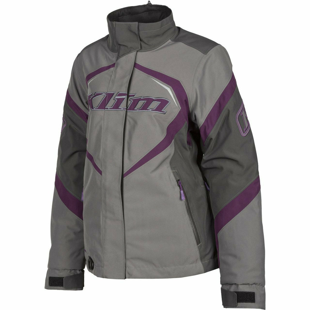 Klim Spark Jacket Women/Youth - New Jacket Klim Spark Jacket XS Deep Purple - Asphalt