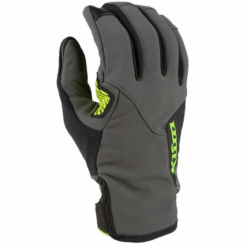 Klim Inversion Glove 21 Gloves Klim Asphalt/Hi-Vis SM