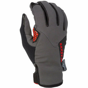 Klim Inversion Glove 21 Gloves Klim Asphalt/High Risk Red MD
