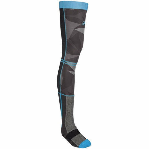 Klim Aggressor Cool -1.0 Knee Brace Sock Footwear Klim Camo - Blue SM