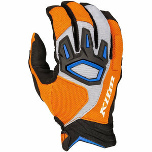 Klim Dakar Off-Road Glove Gloves Klim Orange - Blue SM