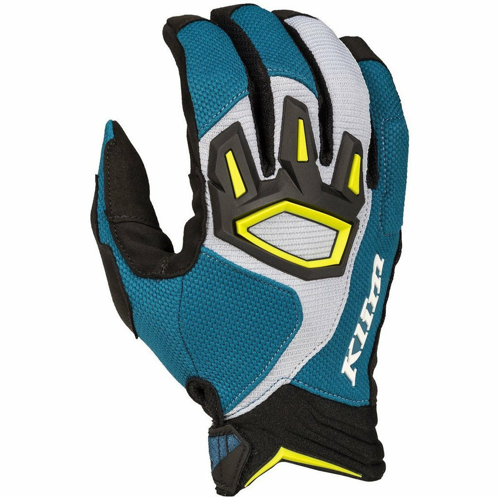 Klim Dakar Off-Road Glove Gloves Klim Skydiver Blue SM