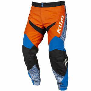 Klim Dakar In The Boot Off-Road Pant Pants & Bibs Klim Orange - Blue 30