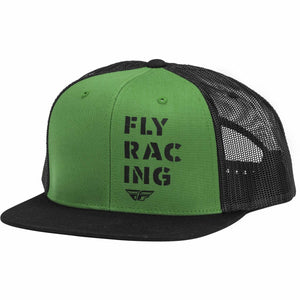 Fly Racing Military Hat 21 Fly Racing 2021 GREEN/BLACK OS