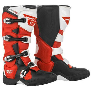 Fly Racing FR5 Boots 21 Footwear Fly Racing Red/Black/Grey/White 21 7