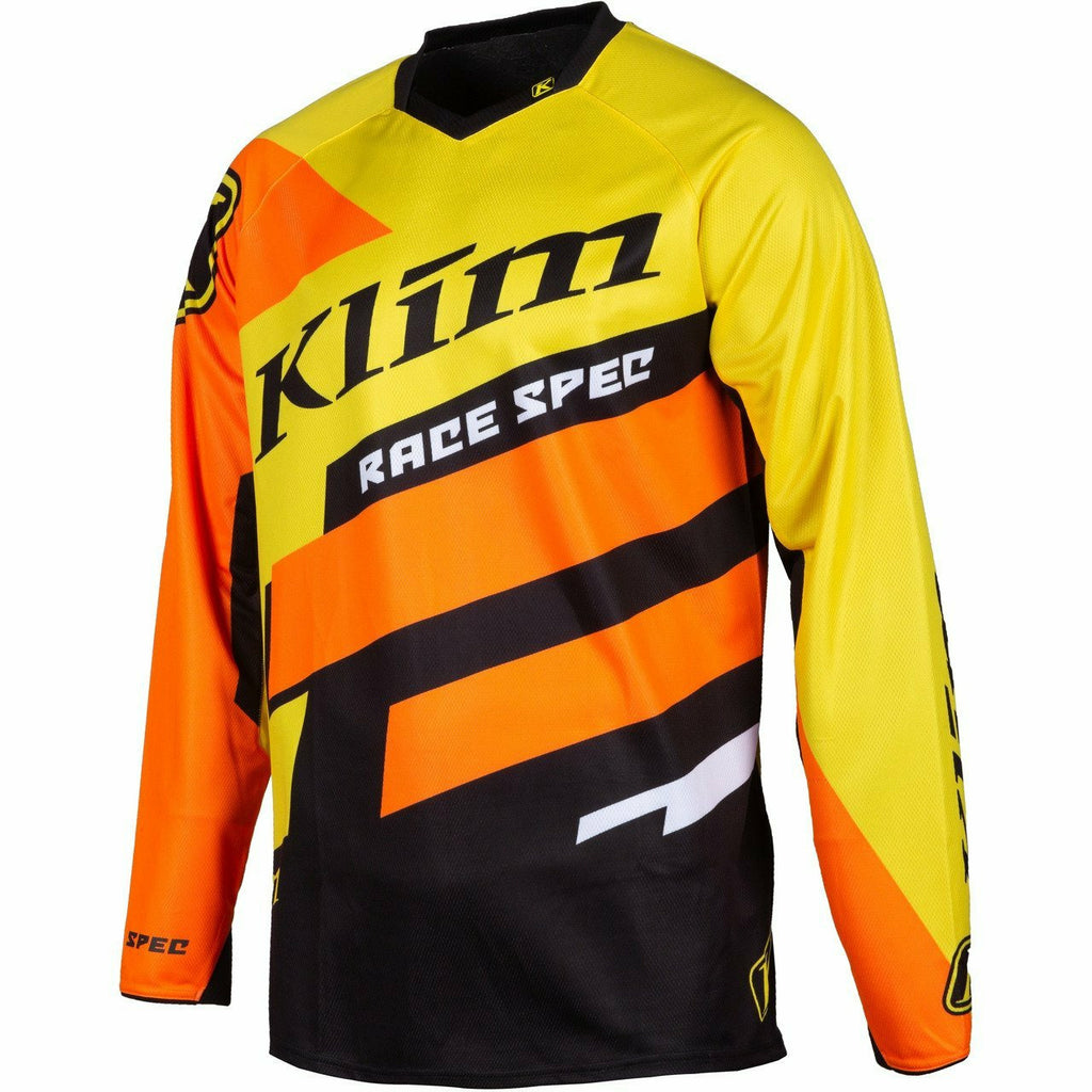 Klim Race Spec Jersey - New Jersey Klim Race Spec Jersey YMD Klim Yellow