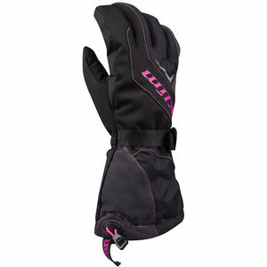 Klim Ember Gauntlet Glove - New Gloves Klim Knockout Pink YSM