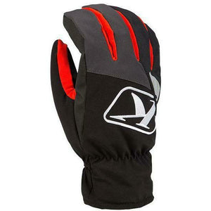 Klim Klimate Short Glove Gloves Klim Red SM