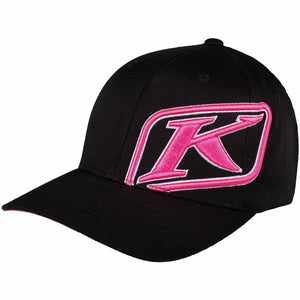 Klim Rider Hat - New Hat Klim Black - Knockout Pink SM - MD