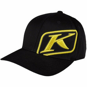 Klim Rider Hat - New Hat Klim Black - Yellow SM - MD
