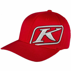 Klim Rider Hat - New Hat Klim Red - White SM - MD