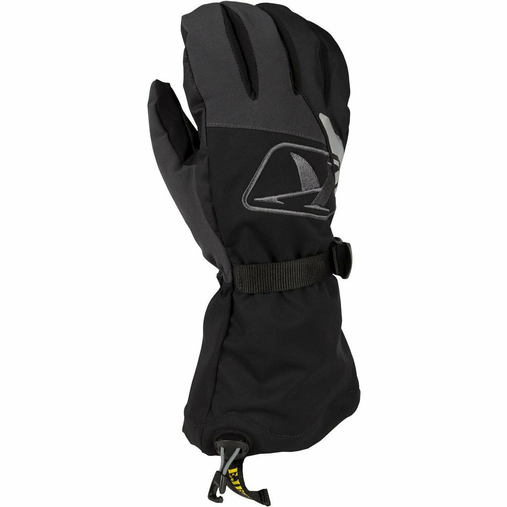 Klim Klimate Gauntlet Glove - New Gloves Klim Klimate Gauntlet Glove YSM Black