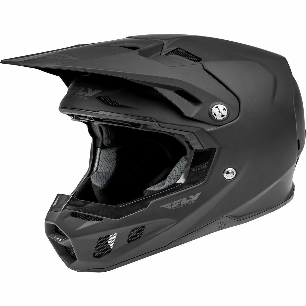 Fly Racing Formula CC Solid Helmet 21 Helmet Fly Racing MATTE BLACK 2X