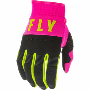 Fly Racing F-16 Gloves Fly Racing Off-Road Neon Pink/Black/Hi-Vis 7