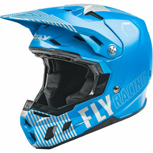 Fly Racing Youth Formula CC Primary Helmet 21 Fly Racing 2021 BLUE/GREY YL