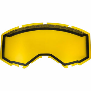 Fly Racing 2019 Zone/Focus Snow Goggle Replacement Vented Lens Accessories Fly Racing YELLOW