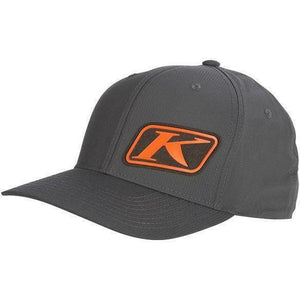 Klim K Corp Hat Hat Klim Gray - Orange SM - MD
