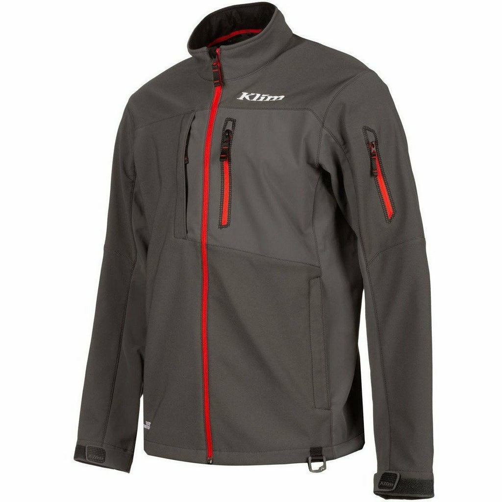 Klim Inversion Jacket 21 Jacket Klim Asphalt/High Risk Red 21 SM