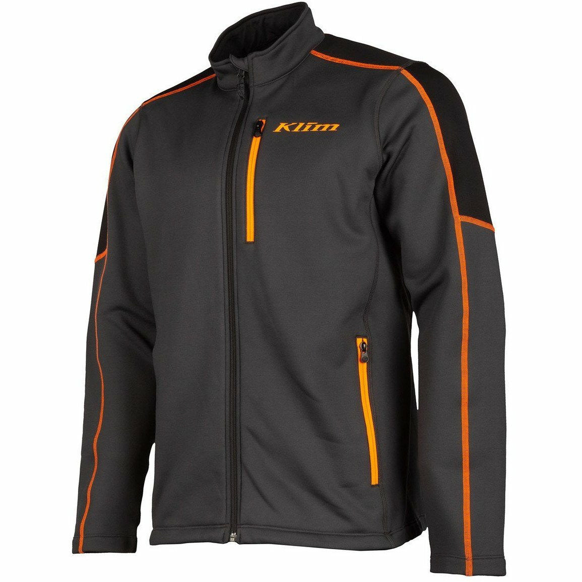 Strike Orange KLIM Inferno Jacket MD Asphalt