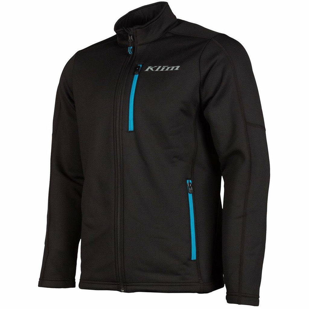 Klim Inferno Mid-Layer Jacket Jacket Klim Black - Vivid Blue SM