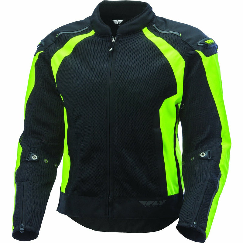 Fly Racing Coolpro Mesh Jacket Jacket Fly Racing HI-VIS/BLACK SM
