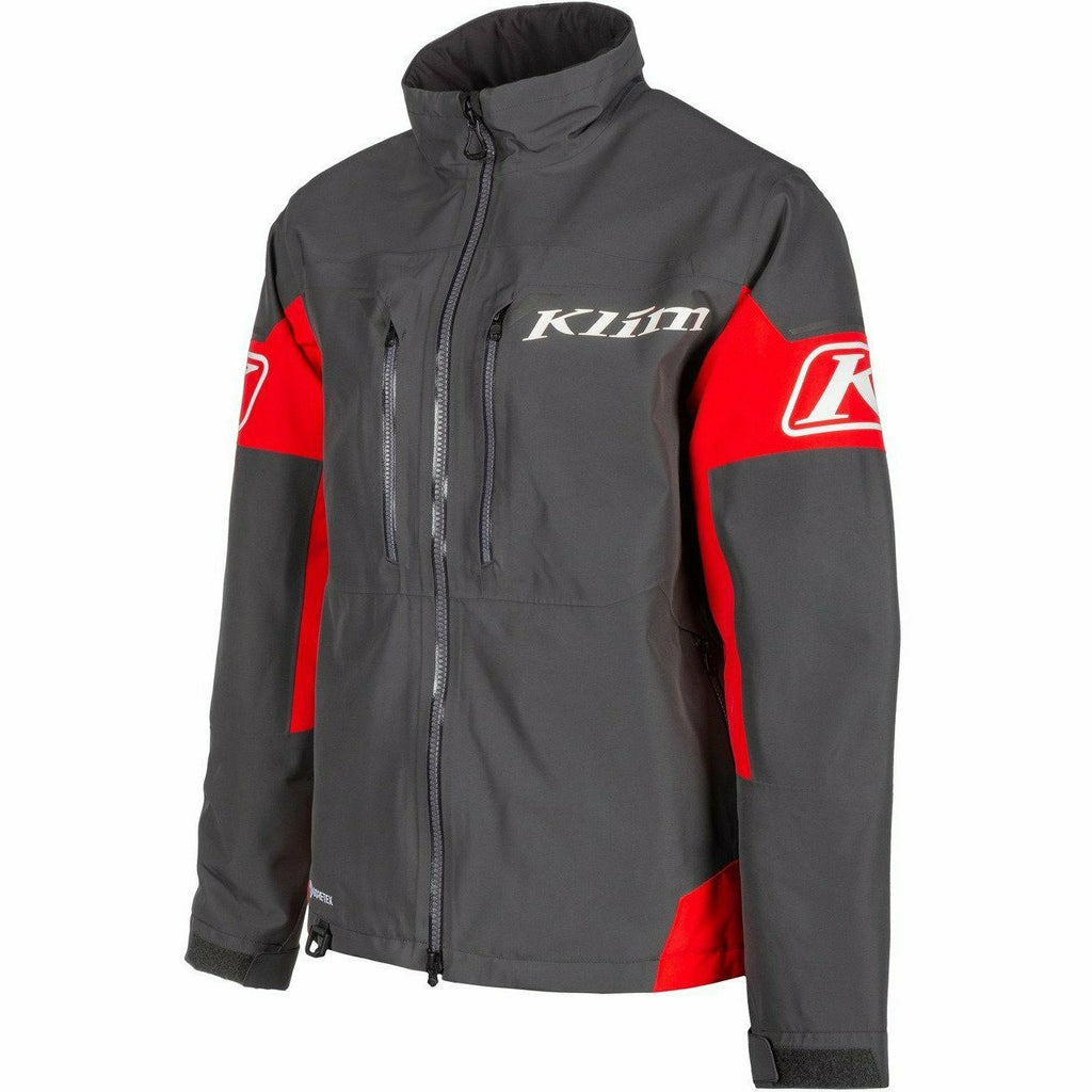 Klim Tomahawk Jacket 21 Klim 2021 Asphalt - High Risk Red SM