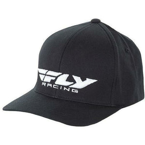 Fly Racing Podium Hat Hat Fly Racing BLACK SM/MD
