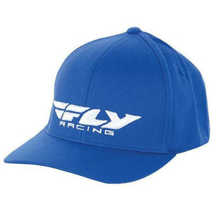 Fly Racing Podium Hat Hat Fly Racing BLUE YOUTH