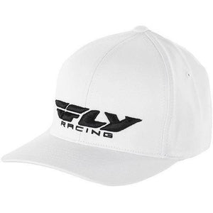 Fly Racing Podium Hat Hat Fly Racing WHITE SM/MD