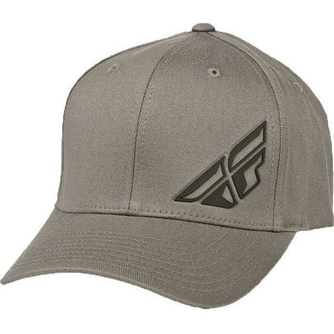 Fly Racing F-Wing Hat - Grey