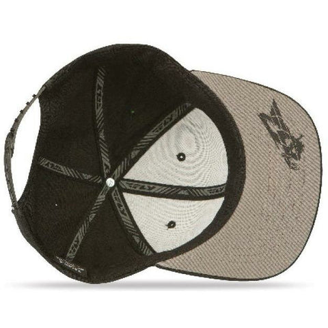 Fly Racing Primary Hat - Black - Bottom
